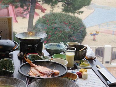 朝食 和食セットメニュー